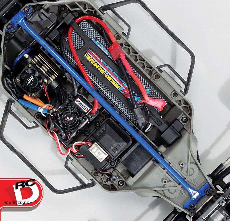 VG Racing LCG Slash and Rally 4×4 Chassis Brace