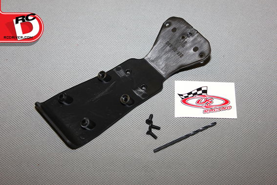Install DE Racing SC10/SC10.2 Chassis Brace