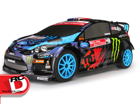 HPI Ken Block Flux WR8 Rally Car