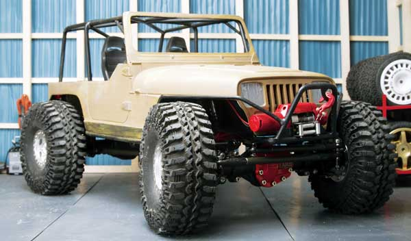 RC4WD YJ Goes Topless