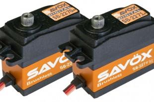 Savox SB-2270SG and SB-2271SG Brushless Digital Servos