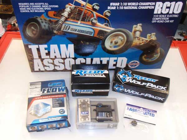 Team Associated RC10 Classic Buggy Build – Shocks