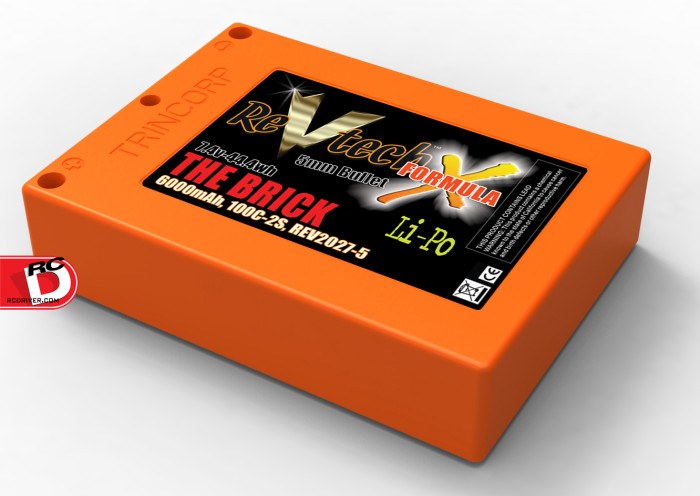 Trinity ReVtech Formula X THE BRICK LiPo Pack