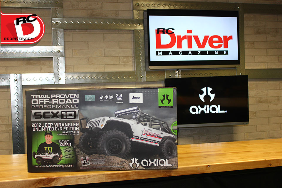 Axial SCX10 2012 Jeep Wrangler Unlimited C/R Edition