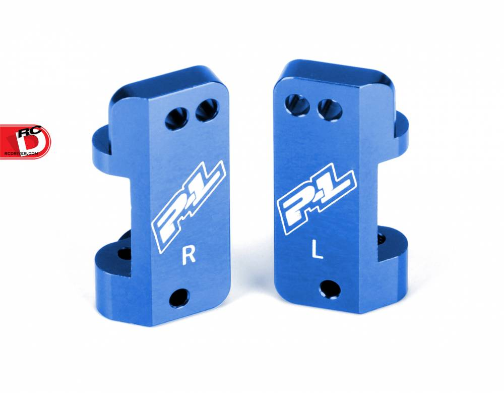 Pro-Line Blue Aluminum Caster Blocks for the Slash and Pro-2 SC