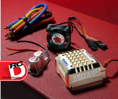 SkyRC Toro TS120 Competition Brushless Speed Control with Aluminum Case and Ares Pro Competition 8.5-Turn Motor