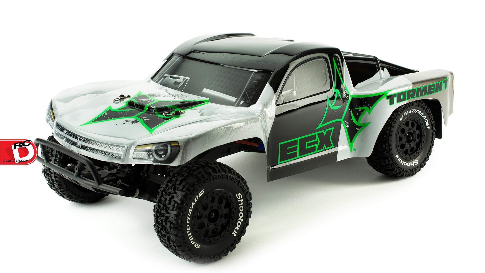 ECX 2WD Vehicles get the 2.1 Treatment