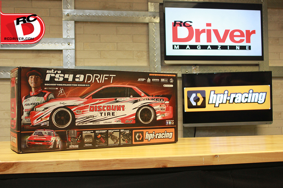 HPI Racing Discount Tire Nitro RS4 3 Drift