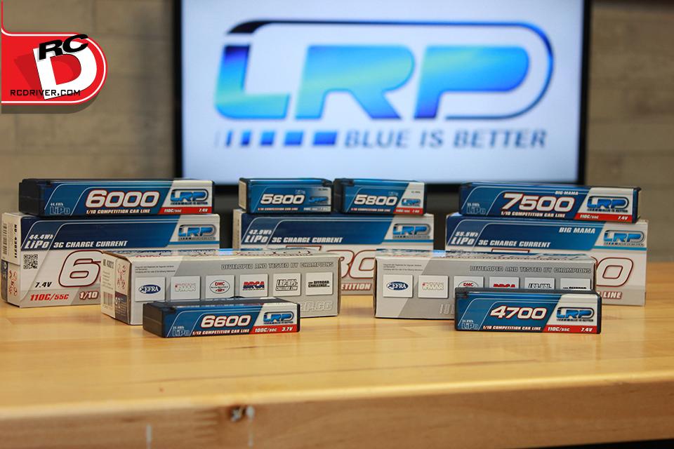 LRP Competition Line Hardcase LiPo Batteries