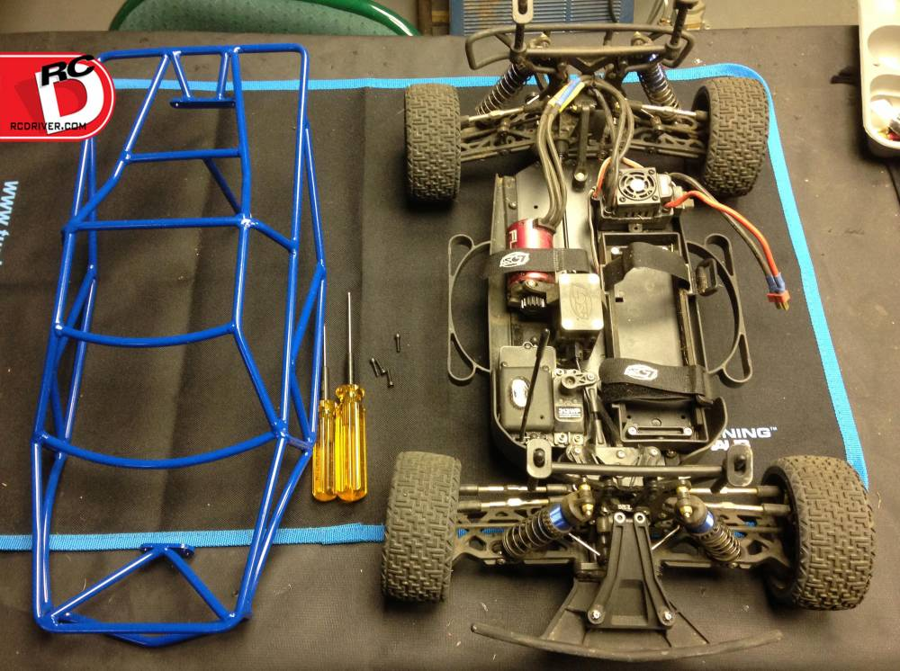 Losi TEN SCTe Tube Roll Cage from VG Racing