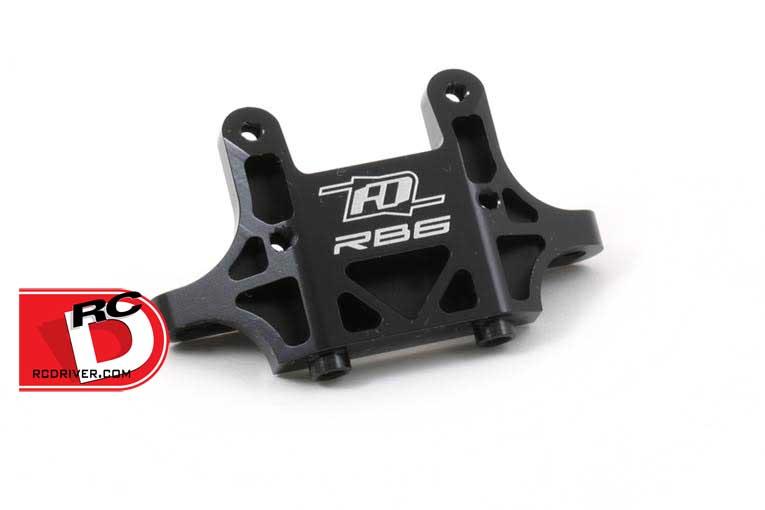 RB6 Rear Mid Motor Aluminum Bulkhead from RDRP