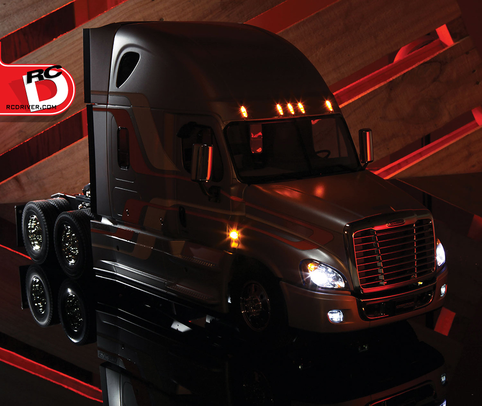 Tamiya Freightliner Cascadia Evo Build, Detail and Action Photos