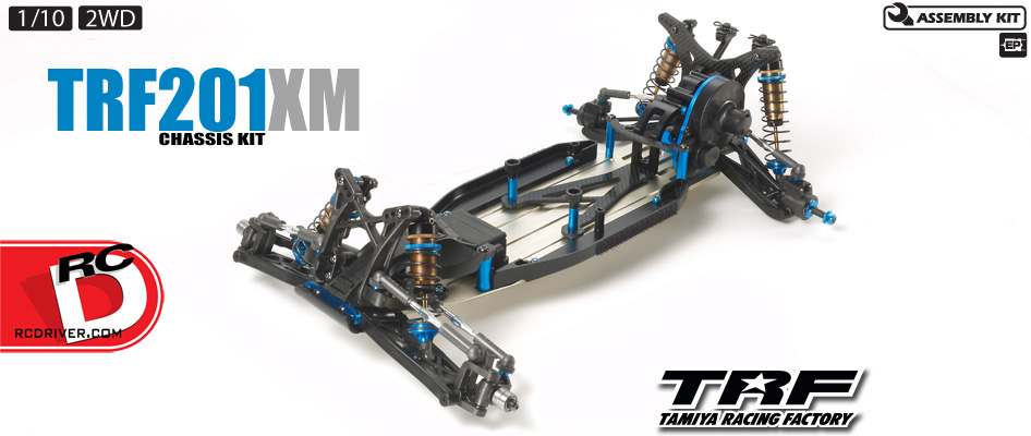 TRF201XM 2WD Off-Road Buggy from Tamiya