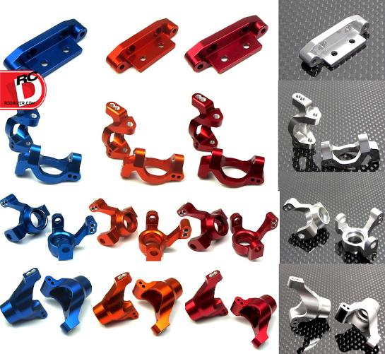 LaTrax Aluminum Hop Ups from The Toyz