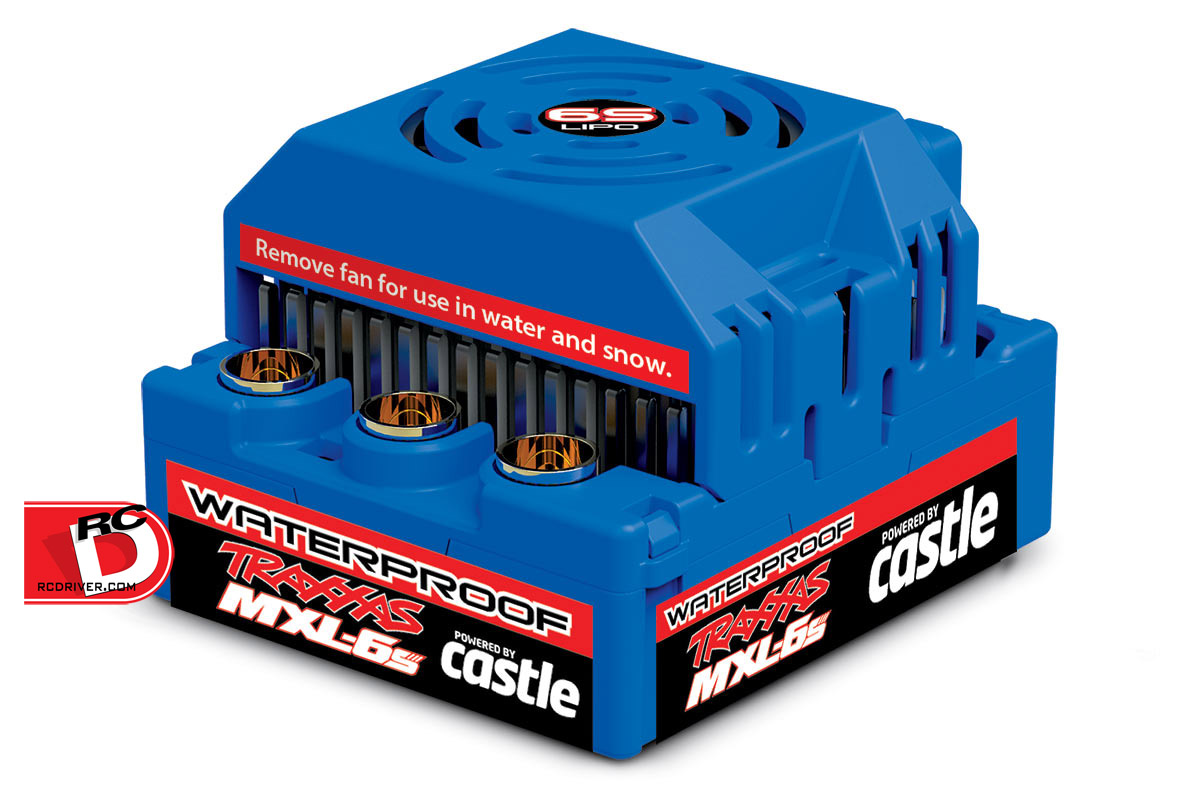 Powered by Castle – The MXL-6s Waterproof ESC from Traxxas