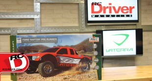 RCD Reveal: Vaterra RC Licensed Ford Raptor 4WD Pre-Runner RTR