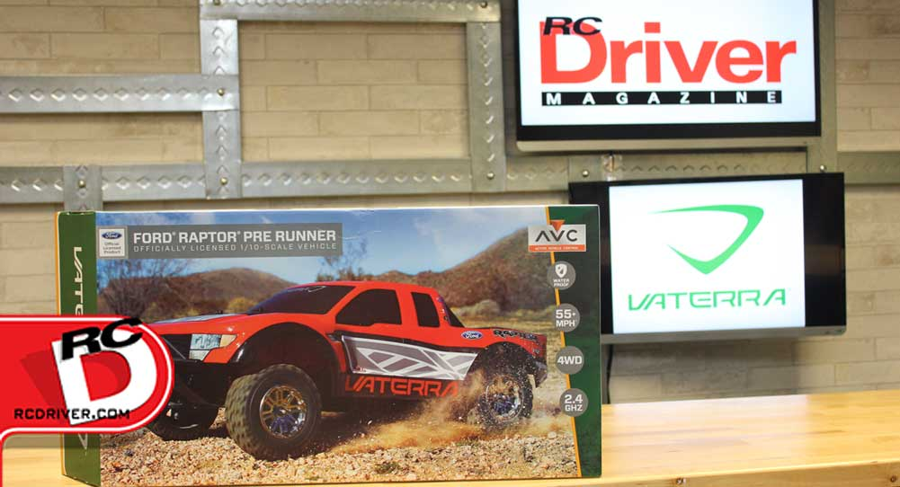 Vaterra RC Licensed Ford Raptor 4WD Pre-Runner RTR