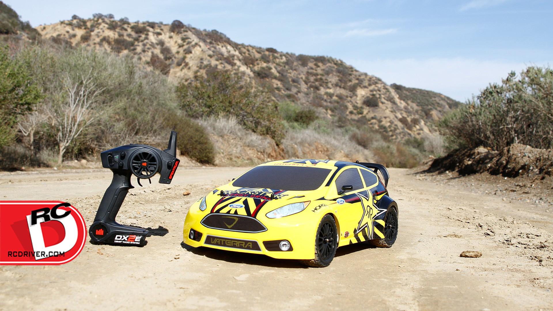 Vaterra Rockstar Ford Fiesta Rallycross