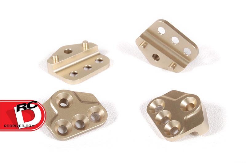 Axial AX10 Aluminum Upper Link Capture Plates