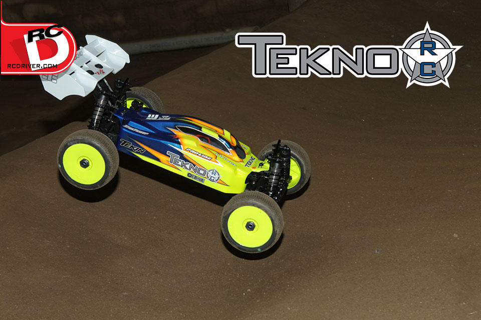 RC Driver: Tekno EB48 Super Lite Buggy Action