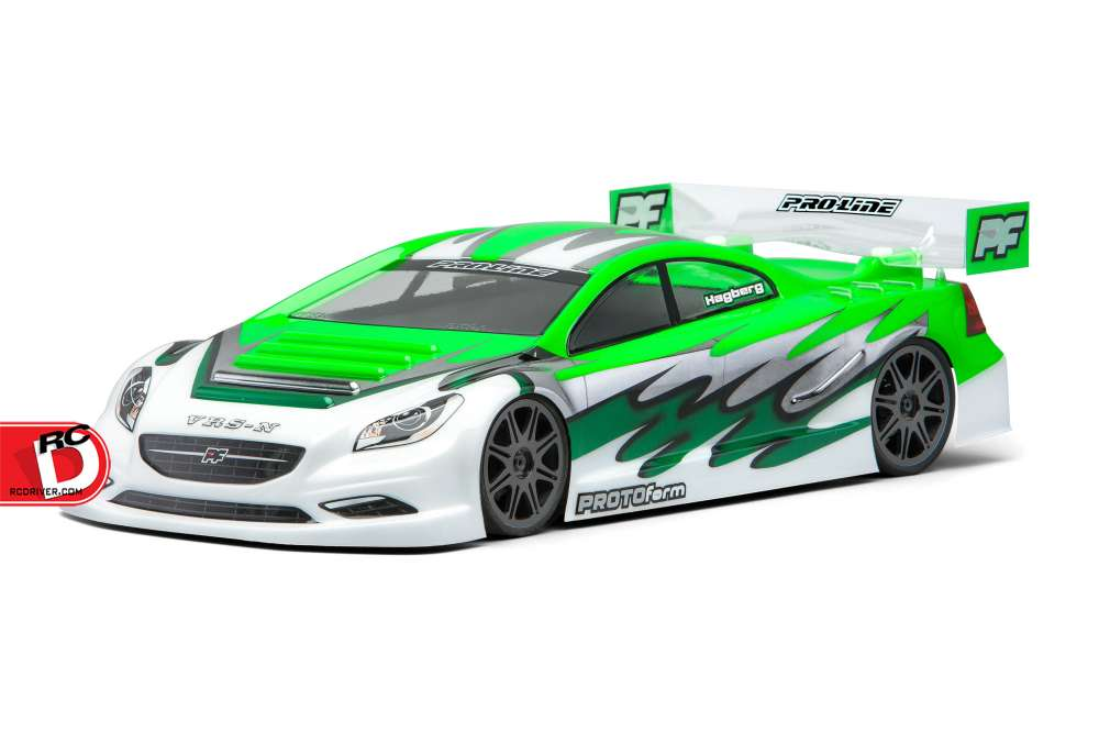 PROTOform VRS-N 200mm Clear Nitro Touring Car Body