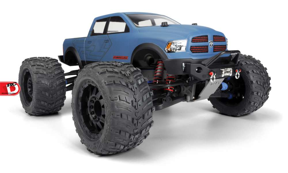 Pro-Line RAM 1500 Clear Monster Truck Body