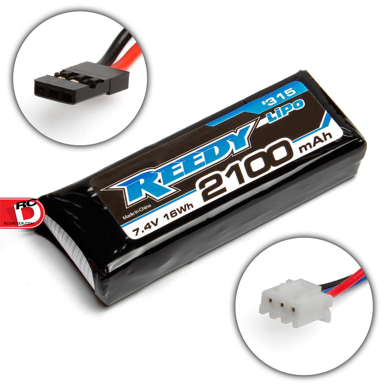 Reedy LiPo 2100mAh 7.4V RX/TX Battery