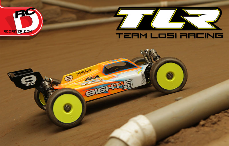 Team Losi Racing 8IGHT-E 3.0 In Action