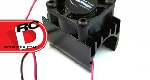 TheToyz - 20mm Black Brushless Motor Heatsink with Cooling Fan copy
