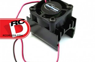 TheToyz - 20mm Black Brushless Motor Heatsink with Cooling Fan copy