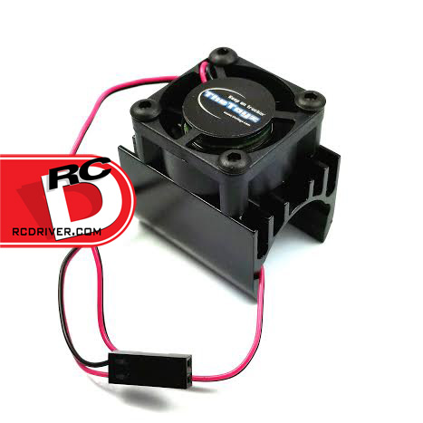 TheToyz 20mm Black Brushless Motor Heatsink with Cooling Fan