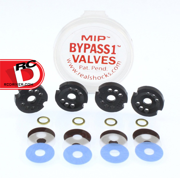 MIP Bypass1 Team Tuned Kit for TLR 12mm 22 and 22 2.0 Shocks