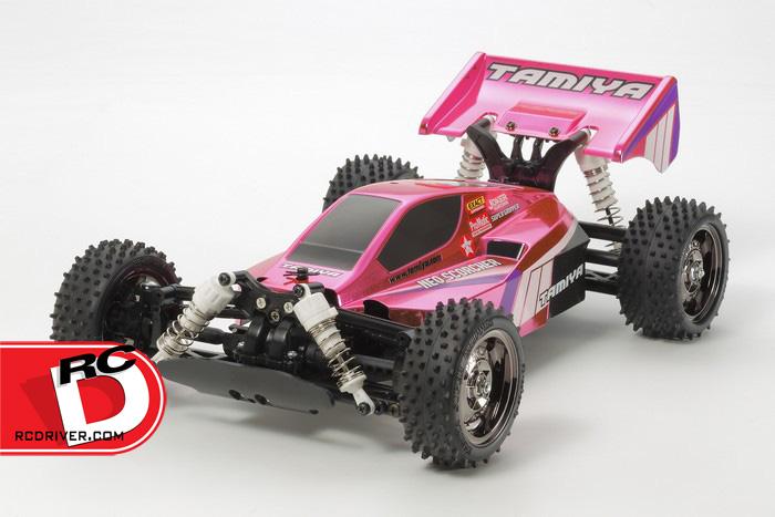Tamiya Bright Pink Metallic Neo Scorcher – TT02B