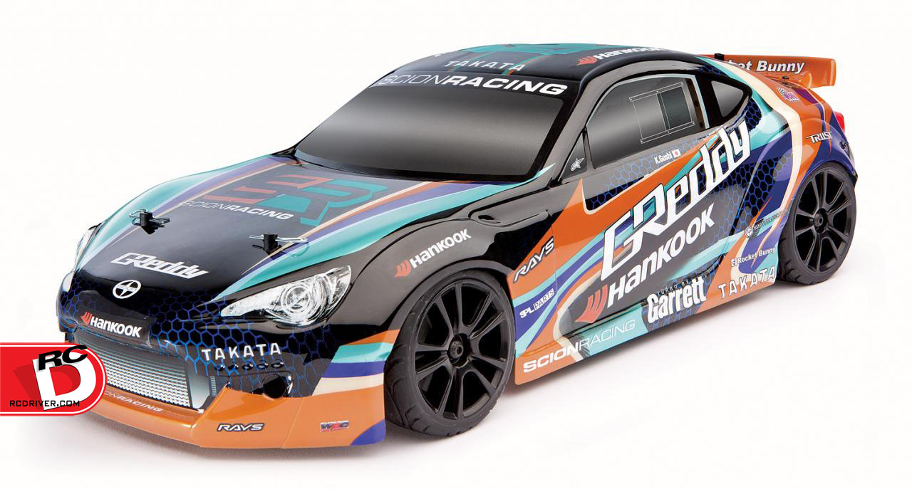 Team Associated Apex Scion Racing FR-S GReddy