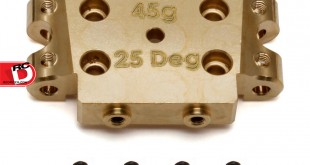 Team Associated - Factory Team Brass Bulkheads for the B5 and B5M_2 copy