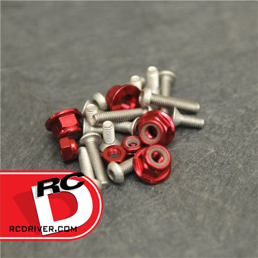 Team STRC Lightweight Screw Kits for TLR and Kyosho Vehicles