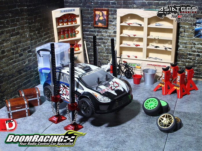 Boom Racing Takes Scale Garage Accessories To The Next Level