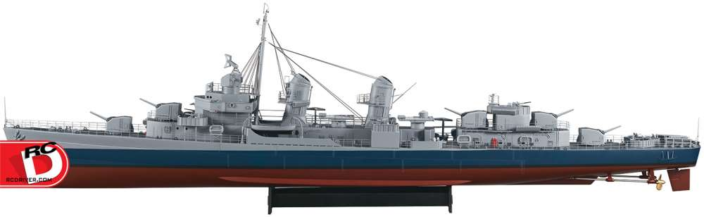 AquaCraft 1/72 Fletcher Class Destroyer ARR