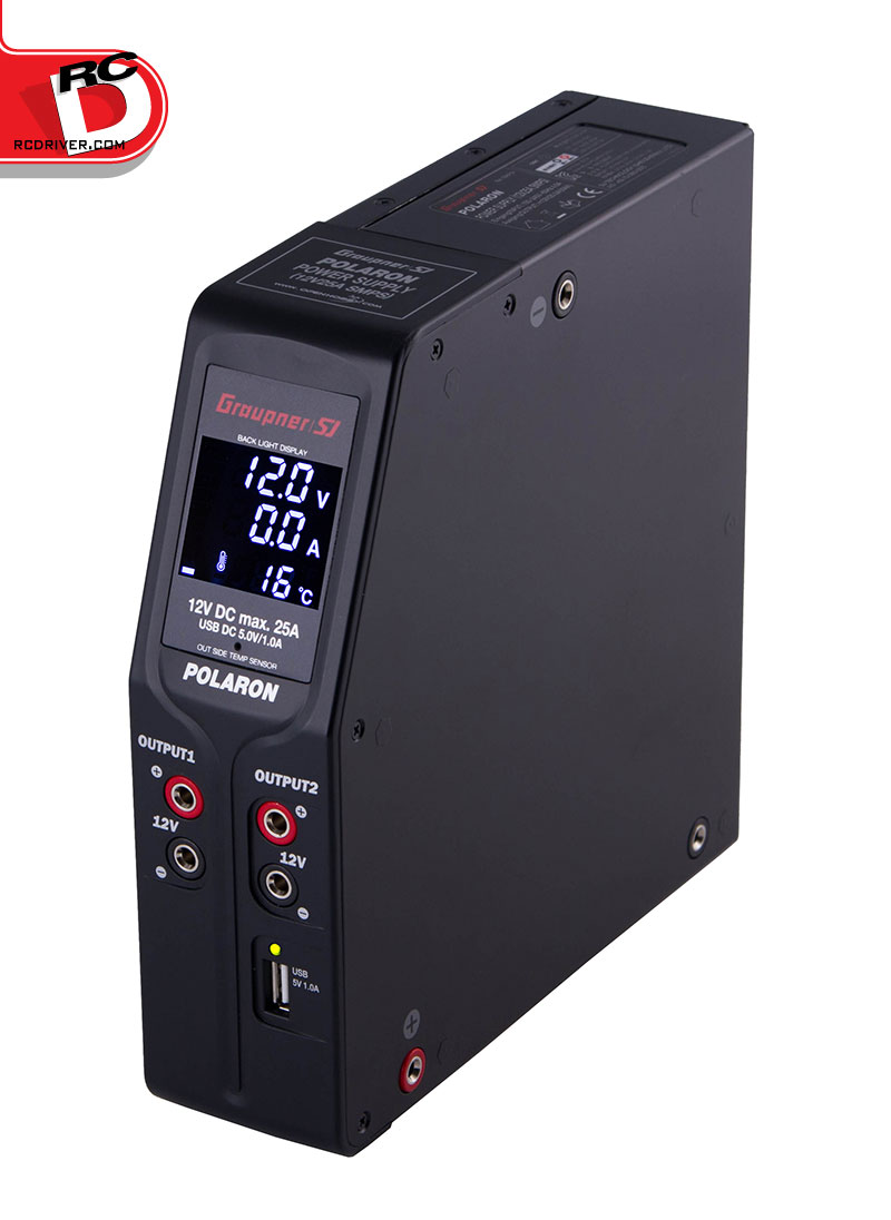 Polaron Switching Power Supply