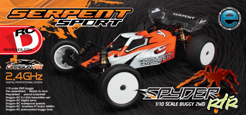 Serpent Spyder RTR Buggy RM