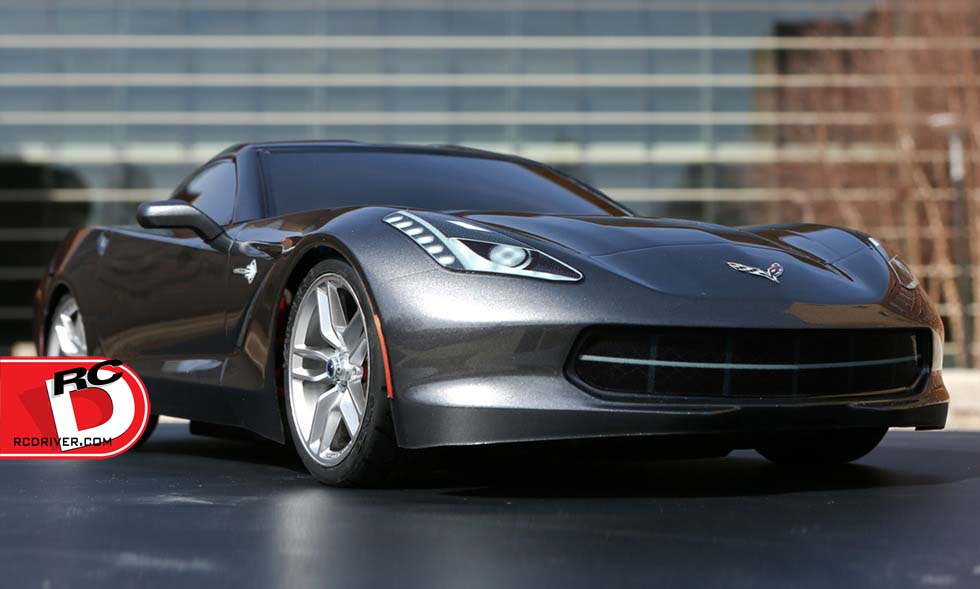 Vaterra 2014 Chevrolet Corvette Stingray RTR V100-S