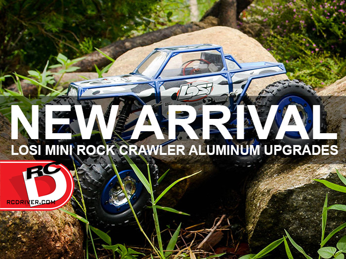 Asia Tees has Boom Racing Aluminum Upgrades For Losi Mini Rock Crawler – Check out the video!