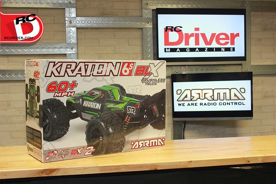 ARRMA 1/8 KRATON 6S Brushless 4WD RTR Truggy