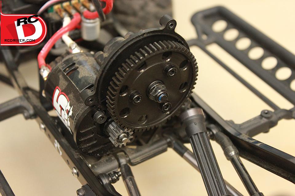 Robinson Racing AX10/ Wraith 32-Pitch Spur Gear Install