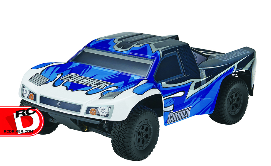 Tower Hobbies Cutback 4wd Brushless Short Course Truck