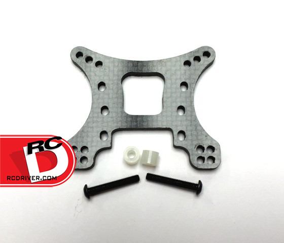 Xtreme RC Carbon Fiber Shock Tower and Roof Plate for the Axial Yeti