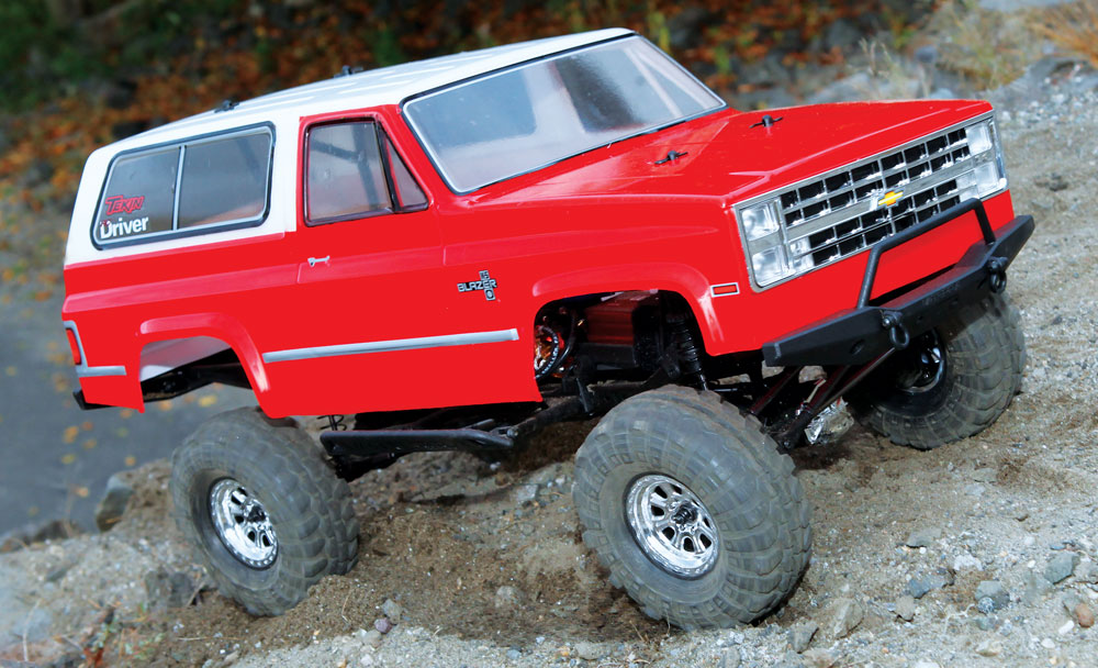 Vaterra Ascender K5 Blazer Build – Front Axle
