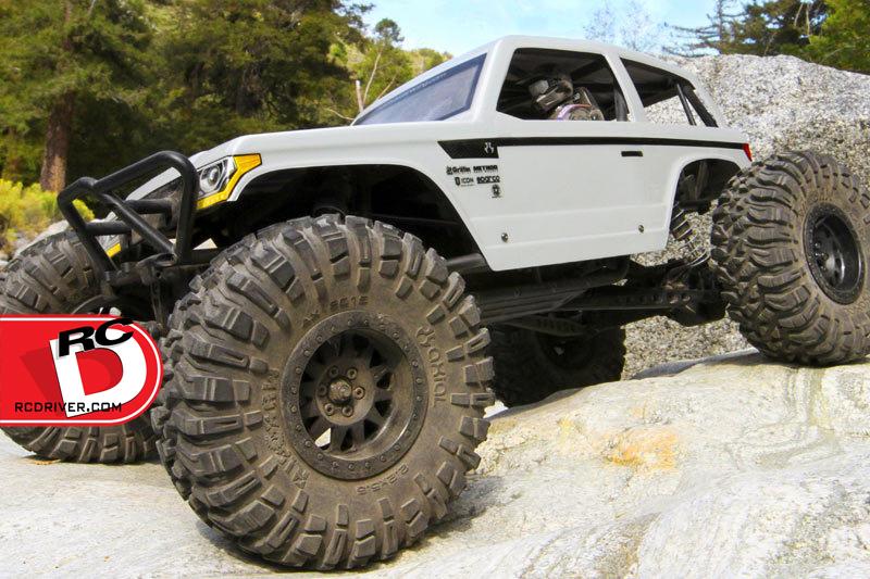 Axial Wraith Spawn Rock Racer