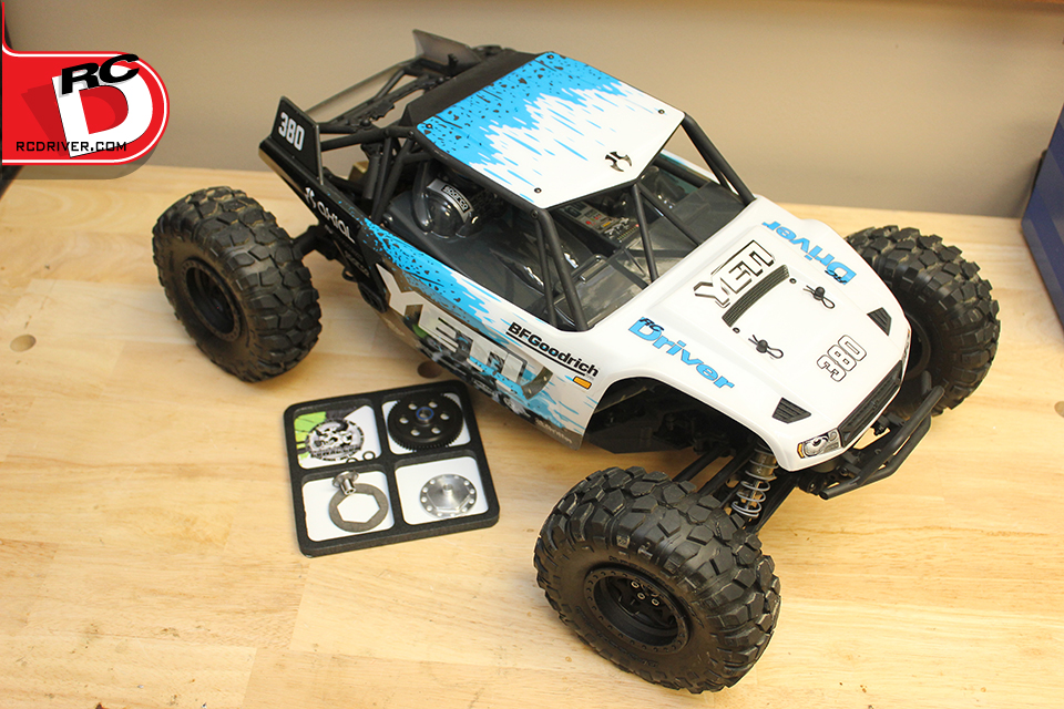 Robinson Racing Gen3 Axial Yeti Slipper Unit Install