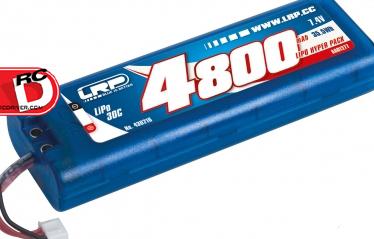 LRP LiPo Hyper Multi Plug Hardcase Packs